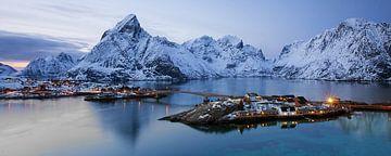 panorama Lofoten von Antwan Janssen