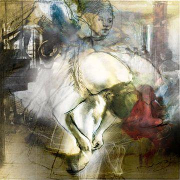Collage Degas von Kirsti's Kunst