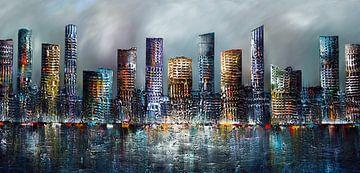 Skyline von Gena Theheartofart
