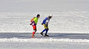 Wintertijd is schaatstijd