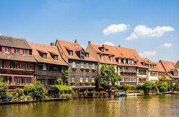 Regnitz met klein Venetië in Bamberg van Animaflora PicsStock