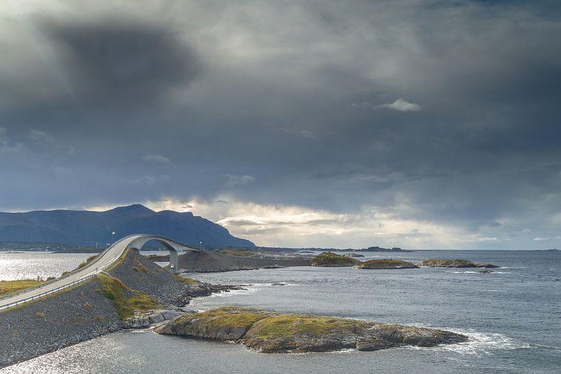 Die Atlantikstraße Norwegen von Menno Schaefer