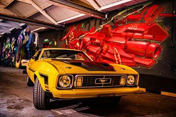 Ford Mustang Mach 1 van Brian Morgan