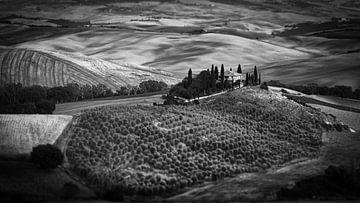 Podere Belvedere, Toscane tilt-shift I van