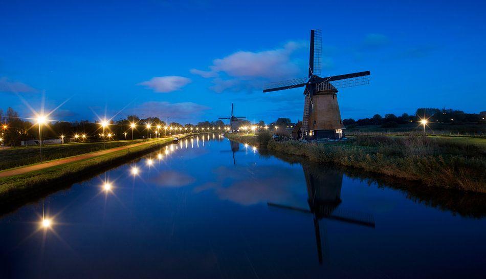 Molens aan de Hoornse Vaart, Alkmaar van Keesnan Dogger Fotografie