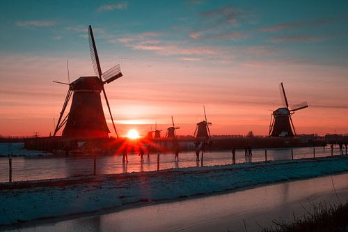 Kinderdijk winter 1