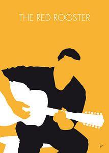 No124 MY Howlin Wolf Minimal Music poster