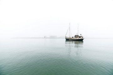 Vissersboot Zuid Afrika van Liesbeth Govers voor omdewest.com