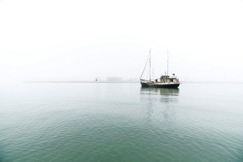 Vissersboot Zuid Afrika