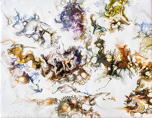 Acryl kunst 2002 van