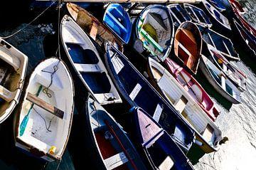 Bootjes in haven van Marieke van der Hoek-Vijfvinkel