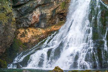 Wasserfall in Österreich von Ferry Kalthof
