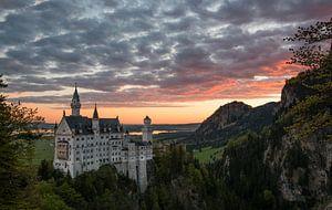 Schloss Neuschwanstein van Salmon Creations