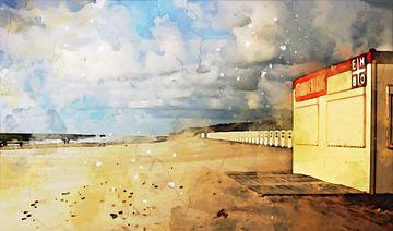 Strandwacht van Petra Dreiling-Schewe