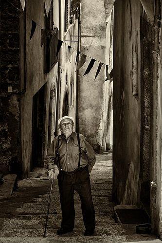 Oude fransman van Peter Halma