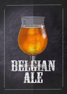 Bier - Belgisches Ale von JayJay Artworks