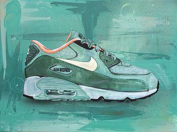 Nike Air Max 90 x Patta homegrown print (70x50cm) Jos