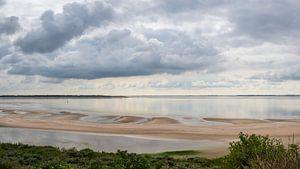 Panorama van de Slufter bij de Maasvlakte van Kok and Kok
