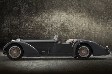 Retro Car gris sur H.m. Soetens
