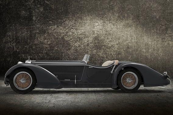 Retro Car grey