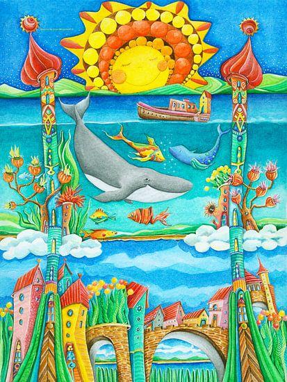 Atlantis - Kunst voor Kinderen van Atelier BuntePunkt