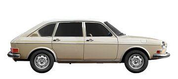 VW 411 in originele kleur van aRi F. Huber