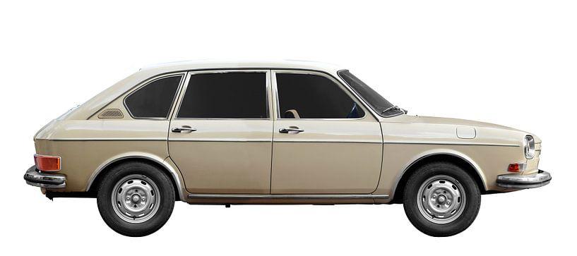 VW 411 in Originalfarbe von aRi F. Huber