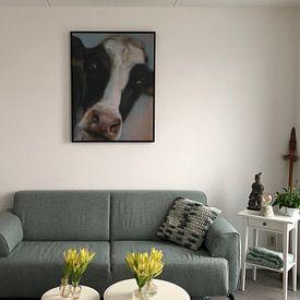 Kundenfoto: Malende Kuh BoeHoe. von Alies werk