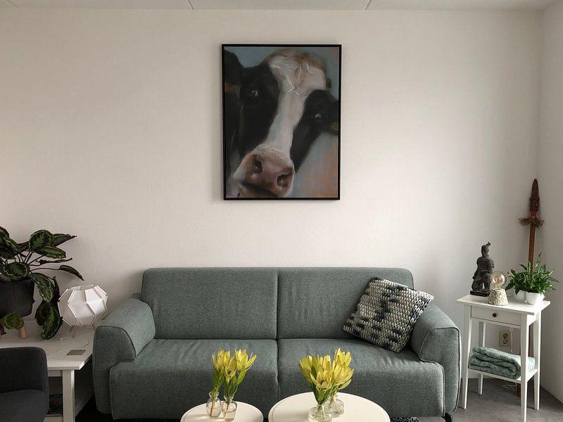 Photo de nos clients: Peinture vache BoeHoe. sur Alies werk