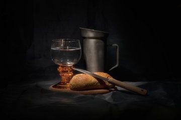 Water en brood van René Ouderling