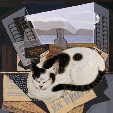 Cat Nap sur Marja van den Hurk