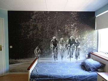 Kundenfoto: Radrennfahrer verstecken sich nicht von Leon van Bon