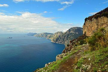 Spaziergang entlang der Amalfiküste von Renzo de Jonge