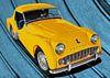 Triumph TR3 in yellow von aRi F. Huber Miniaturansicht