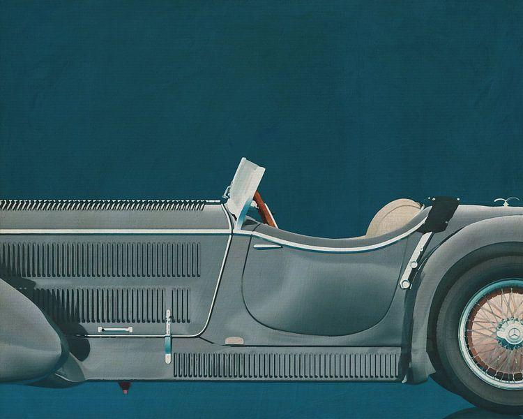 Mercedes - Benz SSK710 1930 van Jan Keteleer