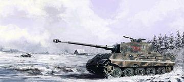 Tiger II Panzer von Wouter Florusse