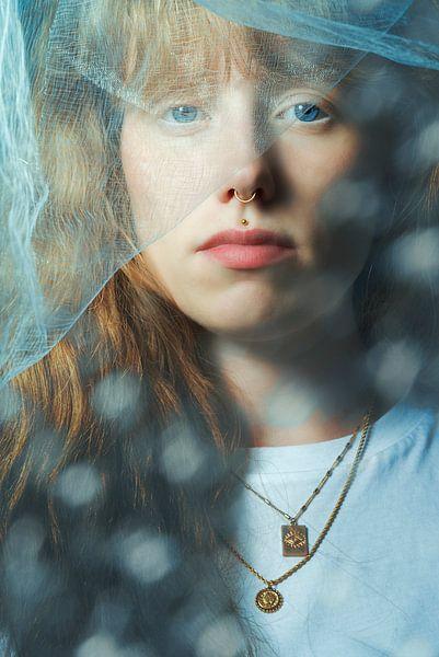 Serie Dochter, portret 3 van Noortje Zoomers