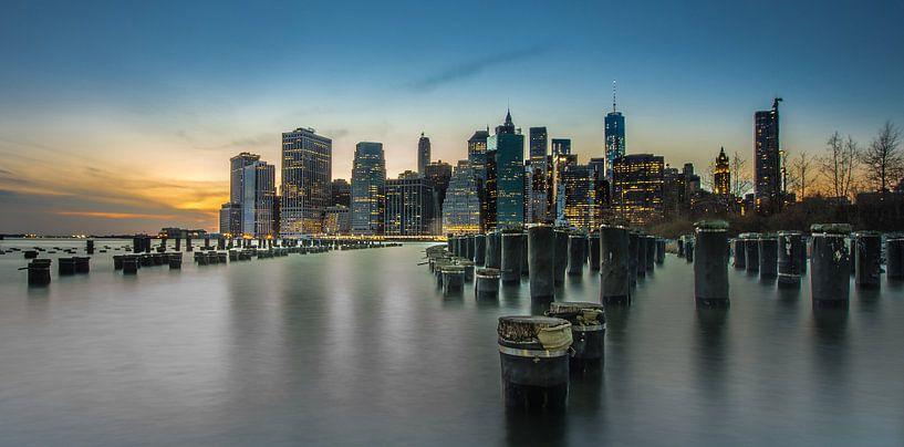 New York by night 2 van Lex Scholten