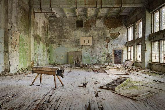 Tschernobyl Sporthalle von Perry Wiertz