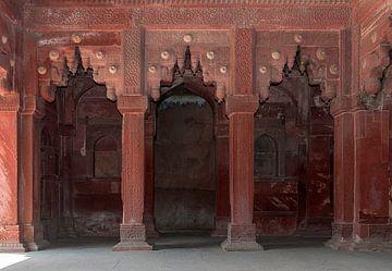 Agra: Fort Agra van Maarten Verhees