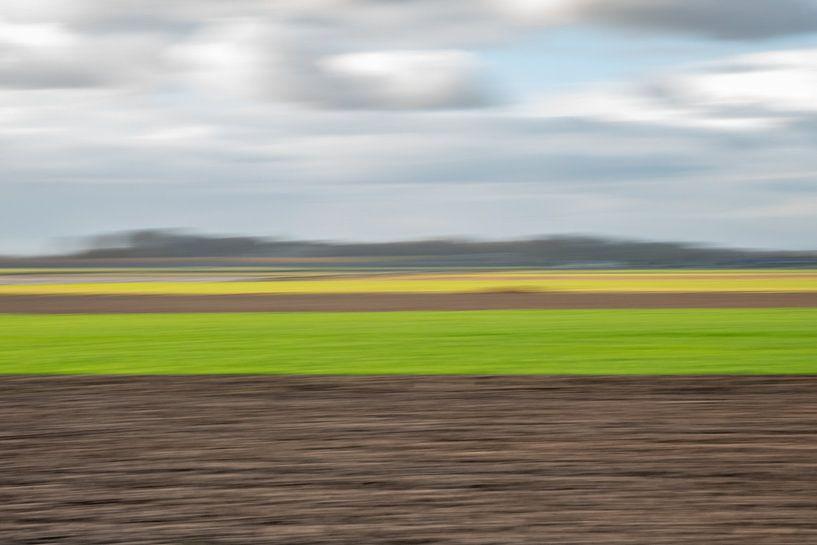 Polderlandschap II van Leo Luijten