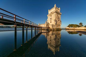 Torre de Belem, Lissabon van Achim Thomae