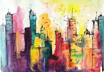 Rainbow City sur Maria Kitano