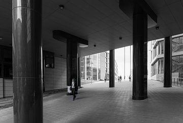 Arbeitsende in Stuttgart von Andreas Marquardt