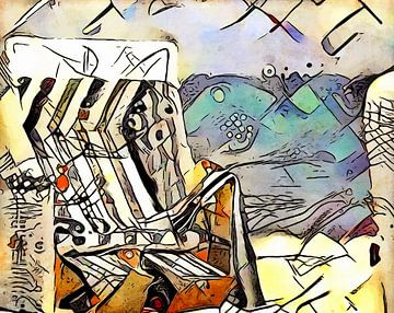 Kandinsky rencontre Warnemünde 1 sur zam art