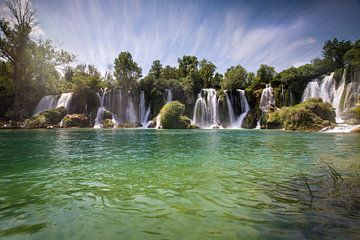 Wasserfall Bosnie von Kristof Ven