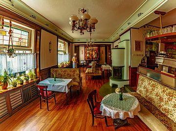 Een café in jaren 50 stijl van Johnny Flash
