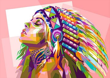 Fille Apache sur zQheert
