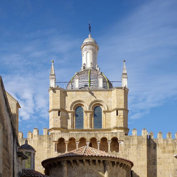 Coimbra: de oude kathedraal Sé Velha van Berthold Werner