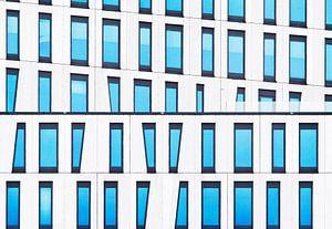 Blauw grafisch